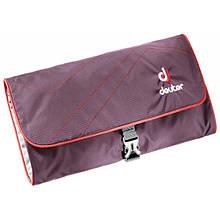 Косметичка Deuter Wash Bag II колір 5522 aubergine-fire (39434 5522)