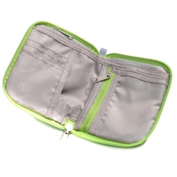 Кошелек Deuter Zip Wallet колір 2009 emerald (3942516 2009)