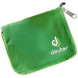 Кошелек Deuter Zip Wallet колір 2009 emerald (3942516 2009), фото 3