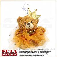 """Брелок """"Медвежонок-принцесса"""" (медведица)"""