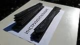 Заготівля для ножа сталь К190-РМ 240-250х30-34х3,8-4,3 мм сира, фото 4