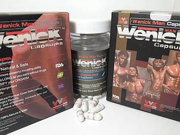 Weniekman капсулы для потенции Универсальный солдат 60 шт США. Натуральный природный СИЛЬНЕЙШИЙ возбудитель
