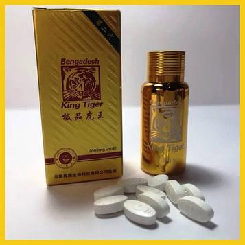 Таблетки для потенції Король Тигр / King Tiger (10 таблеток) Король тигр лікування потенції