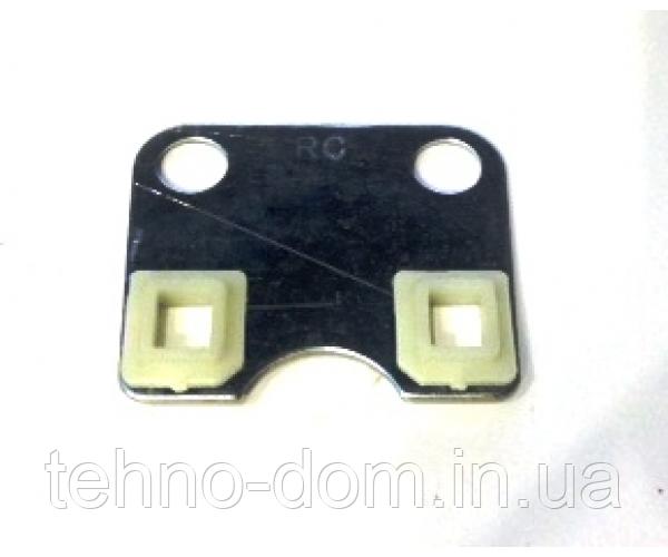 Пластина головы направляющая штанг двигатель (168F)