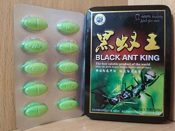 Пігулки для ерекції Black ant king Натуральний Чоловічий збудник Чорний мураха для потенції