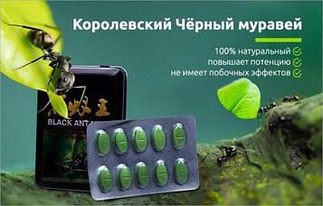 ПЕРЕВІРЕНО ОСОБИСТО, ПОТУЖНИЙ препарат для потенції Black Ant King (Королівський Чорний Мураха) БАД 10т*12800мг