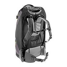 Сумка-рюкзак на колесах Deuter Helion, 80 л, black-moss