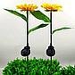 Фонарь садовый Подсолнух  на солнечной батарее, теплый белый., фото 2
