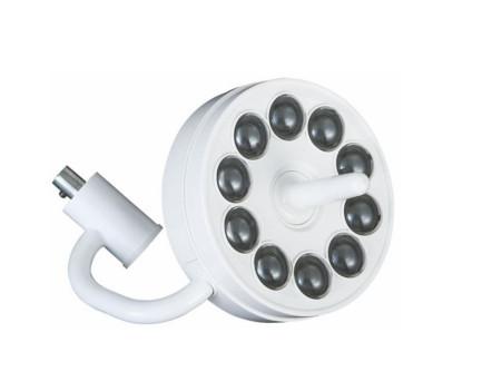 Безтіньовий стоматологічний світильник хірургічний з 10-и світлодіодними лампами.