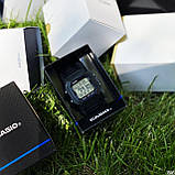 Casio W-800H-1AVEF All Black, фото 3