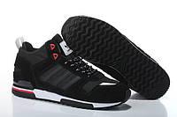 Мужские кроссовки Adidas ZX-700 High Black , фото 1