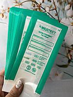 Крафт пакеты МЕДТЕСТ для стерилизации 75*150 ,100 шт/уп (ПРОЗРАЧНЫЕ)