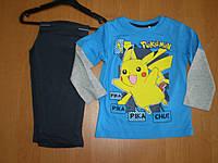 Детская пижама для мальчиков Покемоны, ТМ Sun City, 3, 4года