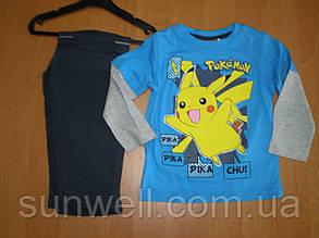 Дитяча піжама для хлопчиків Покемони, ТМ Sun City, 3, 4 роки