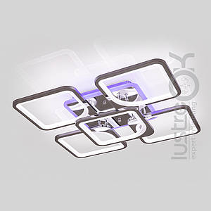 Люстра светодиодная квадратная Люстра с пультом Люстра с подсветкой