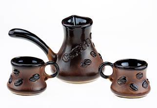 """Набор кофейный с камином """"coffee bean"""", 4 предмета ET (MZ6/1)"""