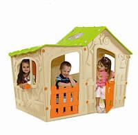 Игровой домик для детей Magic Villa Playhouse пластиковый вместительный
