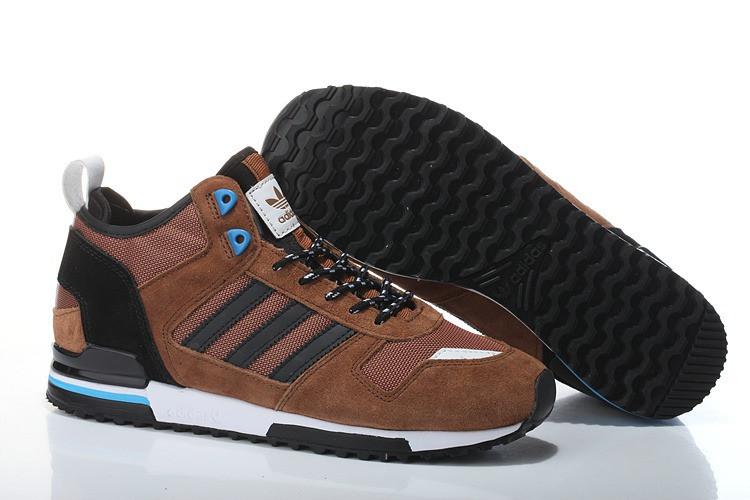 Мужские кроссовки Adidas ZX-700 High Brown