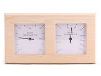 Термометр, гигрометр для бани Sawo 224-THP, сосна