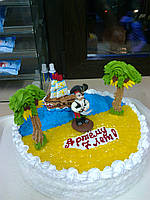 "Торт на заказ ""Маленький пират"""