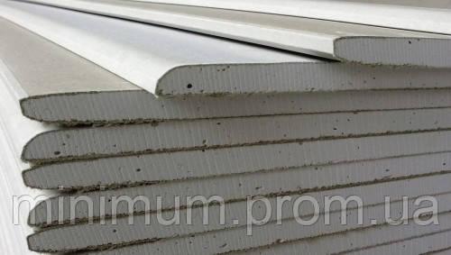 Гипсокартон стеновой 3000х1200х12,5 мм