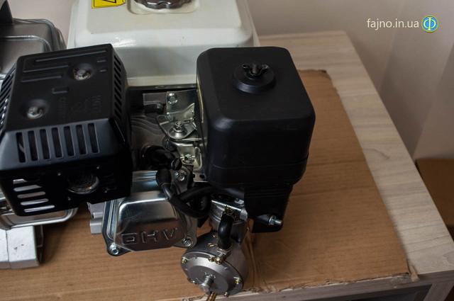 комплект для переделки бензиновой мотопомпы на газ