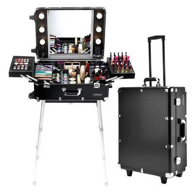 Кейс студия визажиста - чемодан для косметики
