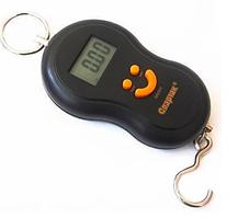 Ручные электронные весы кантер Domotec Acs до 50 кг 601/603 черный