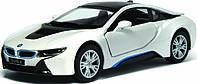 Машина. Авто-модель металлическая 1:32 BMW i8 KT5379W Kinsmart