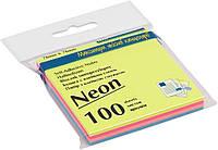 Бумага для заметок неоновая цветная Buromax BM2312-97