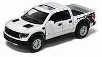Машина. Авто-модель металлическая 1:46 Ford F-150 SVT Raptor Super Crew  KT5365W Kinsmart