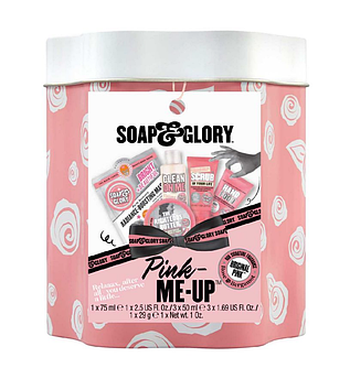 Подарочный набор уходовой косметики Soap & Glory Original Pink Mini-Tin Set 1 x 75 мл 2 х 50 мл 1 х 29 г
