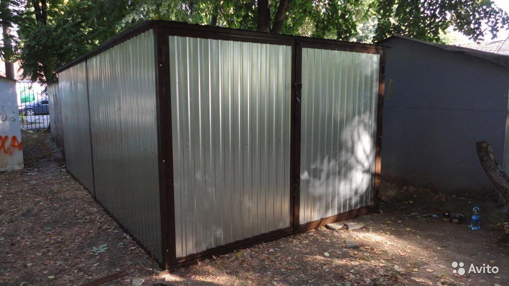Гараж металлический разборной одесса жилой гараж купить в москве