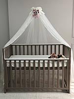 Балдахин для детской кроватки роза