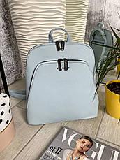 Рюкзак каркасний Smile блакитний СМАЙЛ4, фото 2