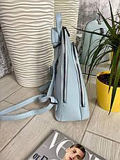 Рюкзак каркасный Smile голубой СМАЙЛ4, фото 2
