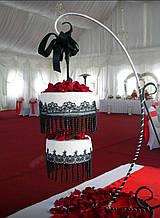 Подставка для торта кованная 4-х ярусная