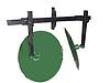 Окучник дисковый Ø 450мм регулируемый на 2-ой сцепке ( угол поворота на шлиц. Шайбах) Агромарка
