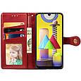 Шкіряний чохол книжка GETMAN Gallant (PU) для Samsung Galaxy A02, фото 3