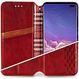 Кожаный чехол книжка GETMAN Cubic (PU) для Samsung Galaxy A32 4G, фото 3