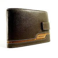 Кошелек мужской кожаный коричневый карты, монеты Prensiti 8948a, фото 1