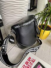 Сумка кросс-боди Forever Young черная КРОС1, фото 3