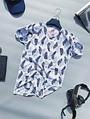 Футболка мужская с листьями стильная качественная LONS   Чоловіча футболка з листями