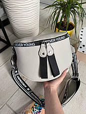 Сумка кросс-боди Forever Young серый КРОС4, фото 2
