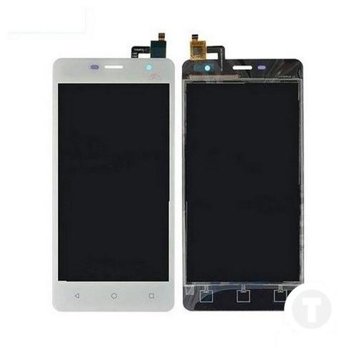 Дисплей (экран) для Nomi i5010 с сенсором/ тачскрином (Модуль) белый