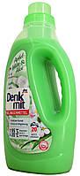 Жидкий порошок для стирки универсальный DM Denkmit Vollwascmittel Apfel-blute+Aloe 1,5л.