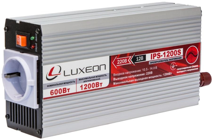 Luxeon IPS-1200S 600 синус от 12В инвертор, преобразователь напряжения, чистый синус - Top-Device в Киеве