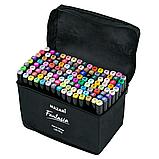 Набір спиртових маркерів 120 штук. Професійні маркери для скетчінга, фото 10