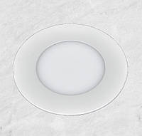 Светодиодный LED точечный врезной светильник 4W (круг)