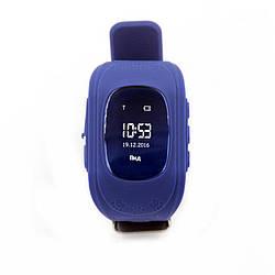 Фитнес-трекер для Детские смарт-часы GoGPS ME К50 Темно Синий (К50ТС)